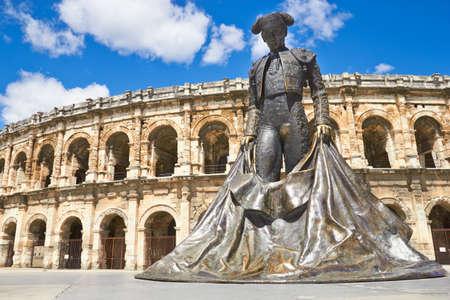 Romeinse amfitheater in de Provence, Nîmes, Frankrijk