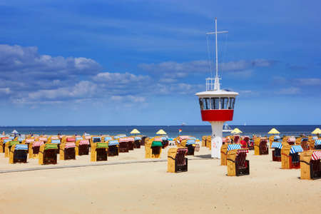 Beach in Travemunde, Germany