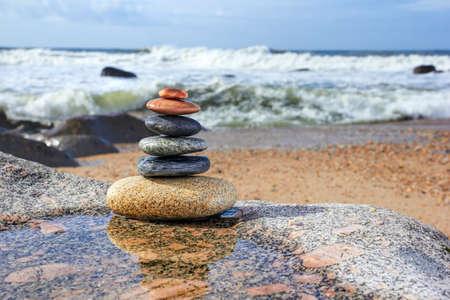 Zen Balancing Pebbles, Harmony en Balance
