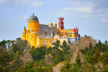 Palace of Pena in Sintra, Lisboa