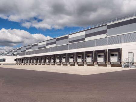 Large distribution warehouse Stockfoto