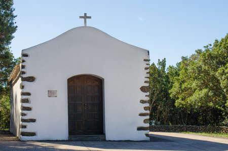 vallehermoso: Ermitage of Epina, Vallermoso, La Gomera, Canary islands, Spain.
