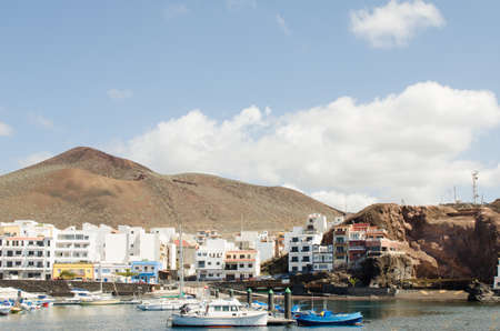 privileged: La Restinga, seaside village in the south of the El Hierro, privileged region for divind. Canary island, Spain.