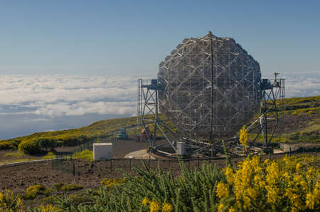 energies: The MAGIC telescope in Roque de los Muchachos Observatory, La Palma, Canary islands, Spain. The MAGIC telescope can detect very high energy gamma rays in a range of energies where no other telescope in the world can operate.