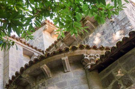 sil: Monastery of Santa Cristina de Ribas de Sil, Ribeira Sacra, Galicia,  Spain Stock Photo