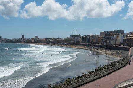Las Canteras beach, Las Palmas de Gran Canaria, Canary islands, Spain