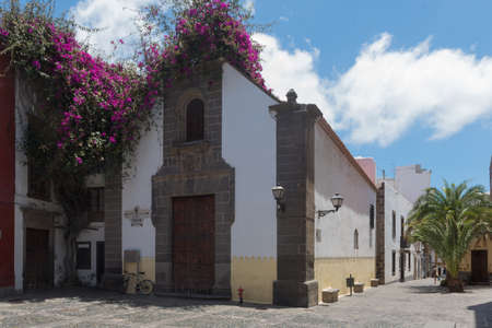 Hermitage of San Antonio Abad, in the old quarter of the district of Vegueta, Las Palmas de Gran Canaria, Canary islands, Spain.