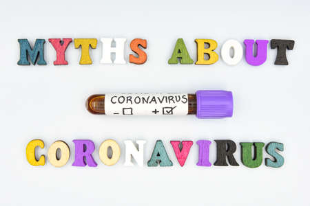 English text to refer to the myths that have been created about the coronavirus pandemic