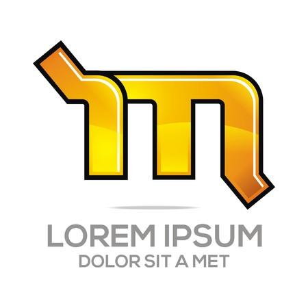 Business Creative Letter M Company Design Icon