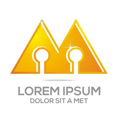 firma: Business Creative Letter M Company Design Icon