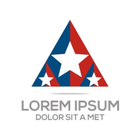 accounting logo: Business Creative Star Emblem logo Design Icon Solution