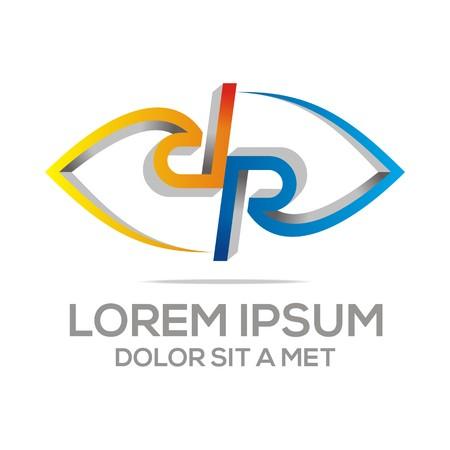 logo vector: Logo Vector Letter R Abstract Illustration
