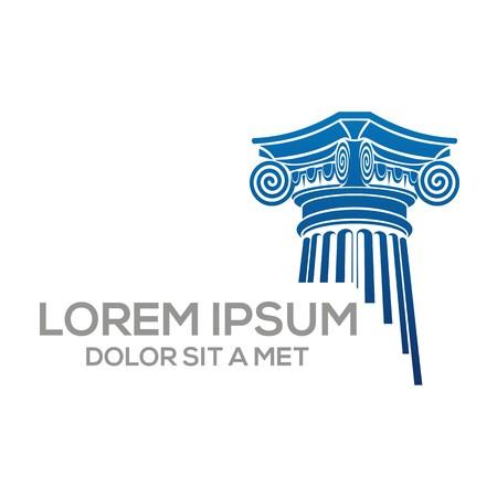 romano: Logo Vector Ley Construcción y Justicia