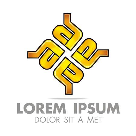 accounting logo: Logo Letter A E Icon Abstract