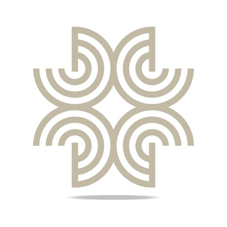 corporation: Logo Abstract Infinity Corporation Concept