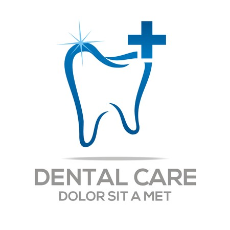 care: Logo Dental Healthy Care Tooth Protection Oral Illustration