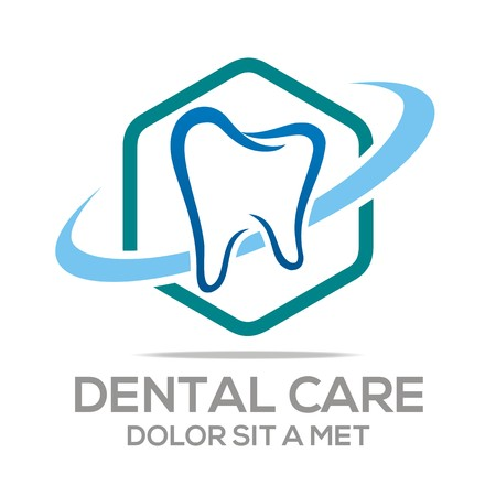 tooth whitening: Logo Dental Healthy Care Tooth Protection Oral Illustration