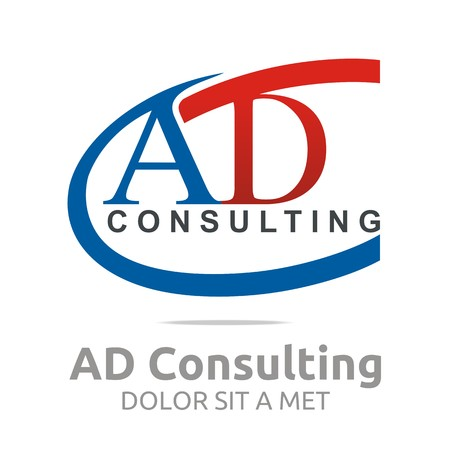 d offer: Logo Letter AD Consulting Icon Business