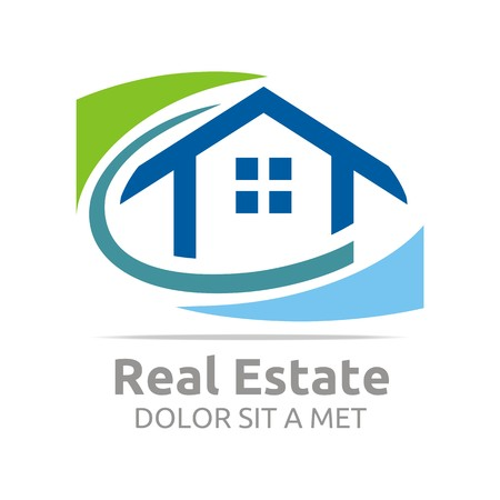 Logo Building Vector Real Estate Design