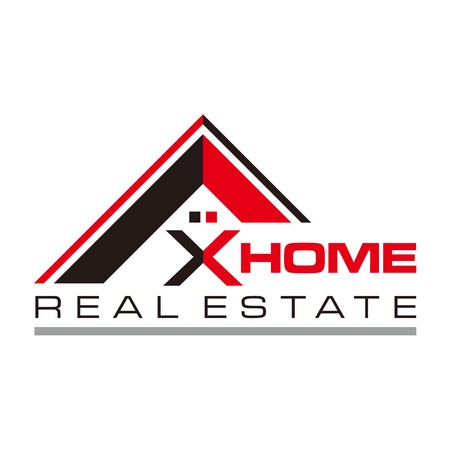 estate: Real estate Home Card Illustration Construction Company Logo