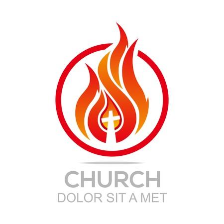 Logo Fire Rescue Church Christ Savior Of My Soul