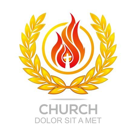 savior: Logo Fire Rescue Church Christ Savior Of My Soul