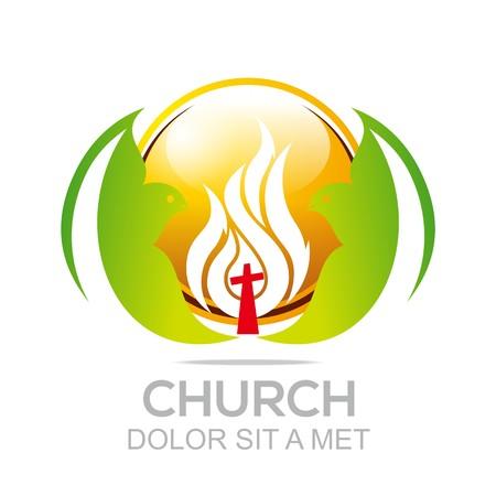 ministry: Logo Fire Rescue Church Christ Savior Of My Soul