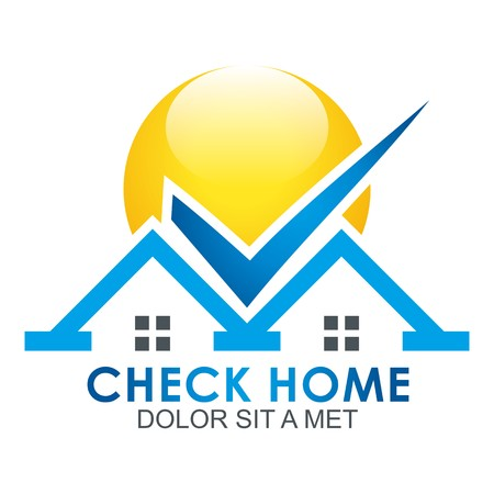 check the blue house logo shielded