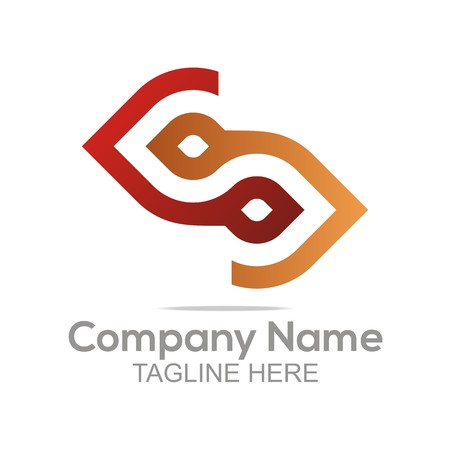earth moving: Logo Design Company Name Bussines Letter Symbol Icon