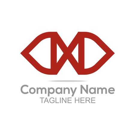 earth moving: Logo Design Company Name Letter X Symbol Icon Illustration