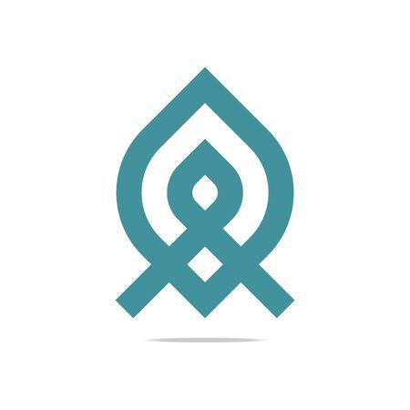 bussines: Logo Design Element Company Name Bussines Letter Symbol Icon