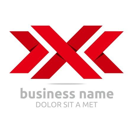 Logo letter x symbol vektor Standard-Bild - 45411583