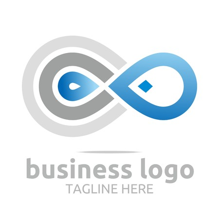 alliance: business logo corporate abstract Infinity vector Illustration