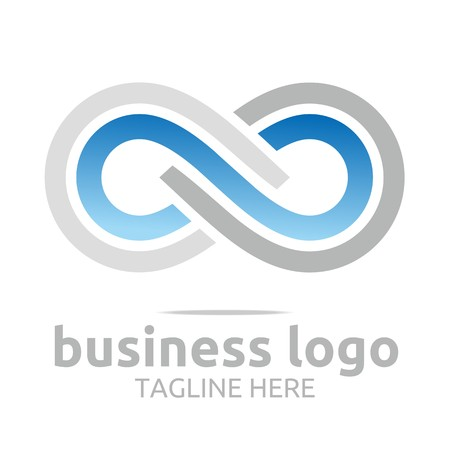 council: business logo corporate abstract Infinity vector Illustration