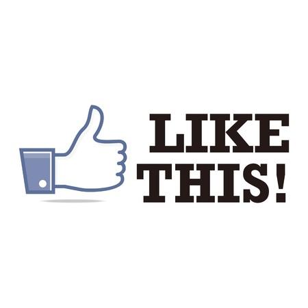 i like: Logo Thumb Up, i Like Icon Logo Design
