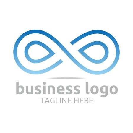 Geschäfts-Logo Unternehmen Corporate Abstrakt Unendlichkeit Standard-Bild - 45412487