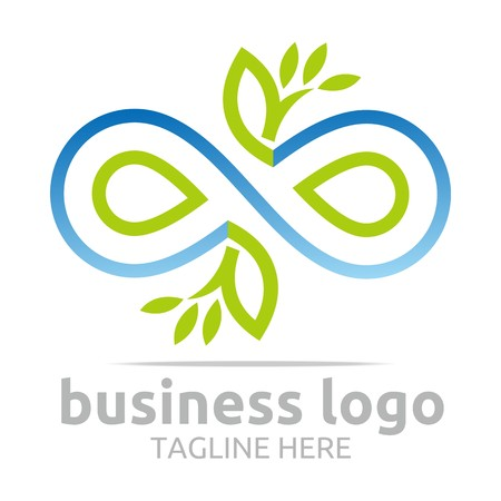 council: Business Logo Company Corporate Abstract Infinity Illustration