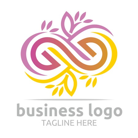 Business Logo Company Corporate Abstract Infinity