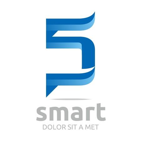 vectorial: letter vectorial s icon symbol