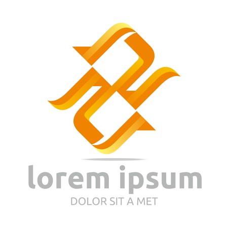 vectorial: Logo letter vectorial 2 icon symbol