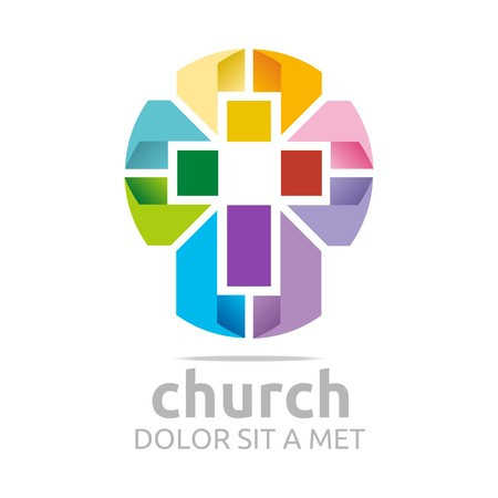 pioneer: Logo Chruch Croos Christian Icon Symbol Abstract