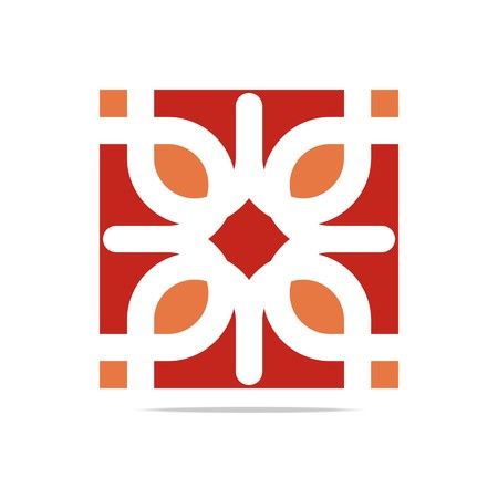 council: Business Logo Company Corporate Abstract Infinity floral batic