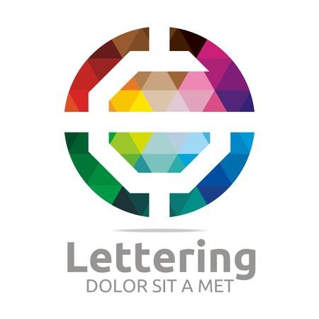 verbs: Logo Alphabet Abstract Rainbow Letter Initial G Symbol Icon Design Vector