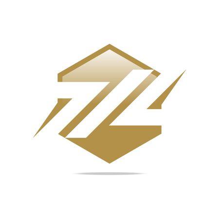 company name: Logo symbol abstract company name slim ortagon perfect performance design