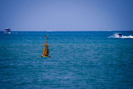 buoyancy: Buoyancy, Taken from a ship to Koh-Lan, Thailand. Stock Photo