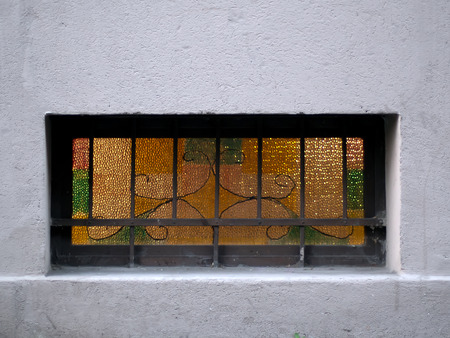 grille: Yellow windows