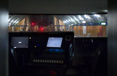 Train driver cabine