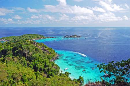similan islands: Viewpoint in Similan Islands National Park, Similan Island, Phang Nga, Thailand