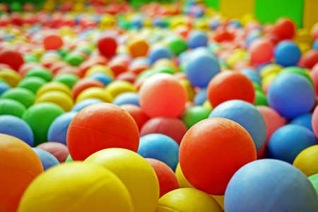 Colorful ball in Playground photo