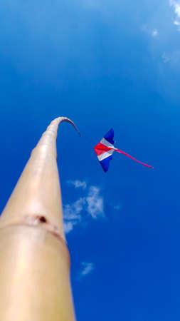 flit: Kite floating in the sky